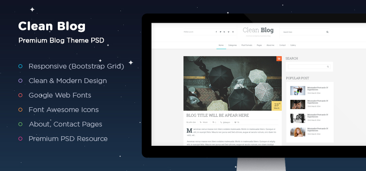 clean-blog-psd-theme-detail