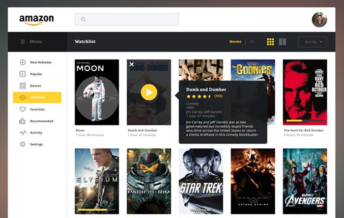 amazon-streaming-redesign-concept